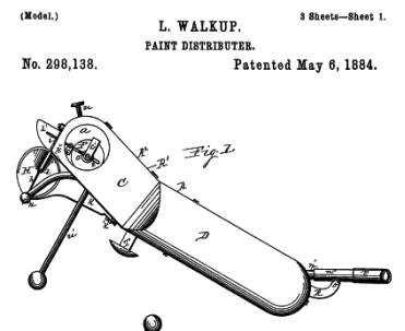 Liberty Walkups 1884 patent.
